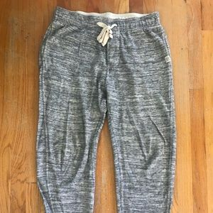 Heather Grey A&F Joggers - Size M